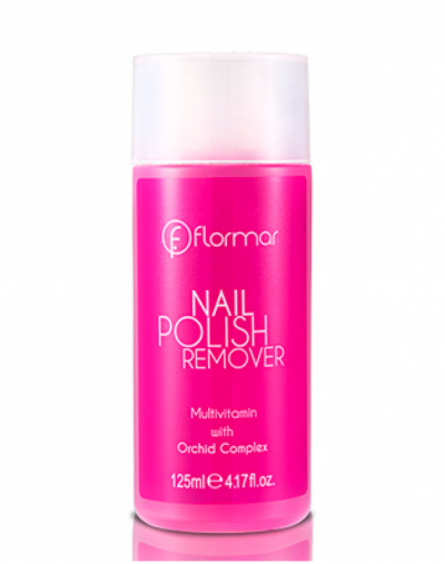 Flormar Nail Polish Remover Orchid Complex
