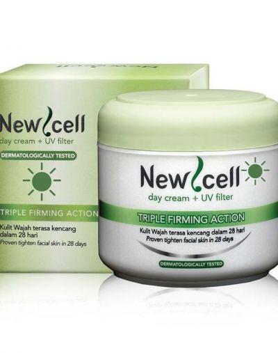 Purbasari New Cell Day Cream + UV Filter