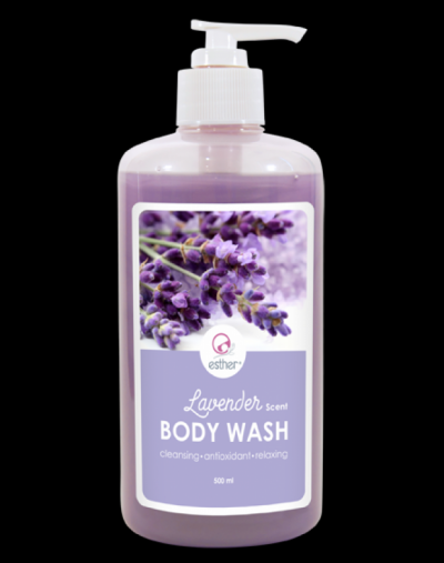 Esther Cosmetic Lavender Body Wash 500ml