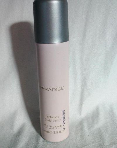 Oriflame Paradise perfume body spray