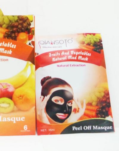 QIANSOTO Fruits and Vegetables Natural Mud Mask