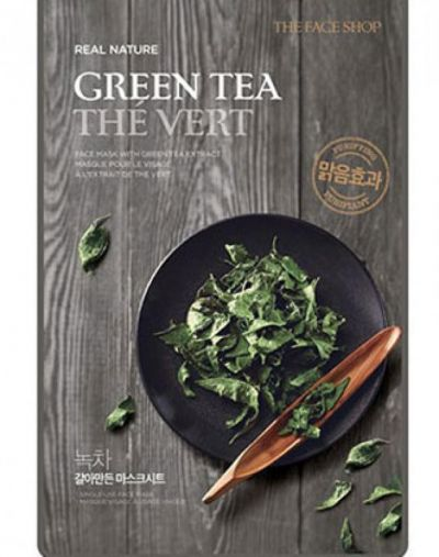 The Face Shop The Face Shop Green Tea Real Nature Mask