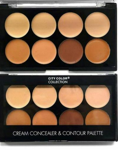 City Color Cream Concealer and Contour Palette