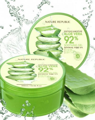 Soothing and Moisture Aloe vera Gel