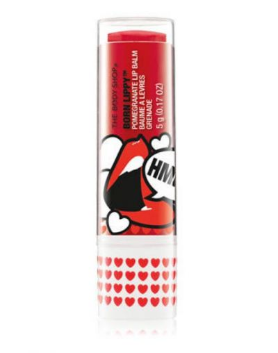 The Body Shop Born Lippy Pomegranate