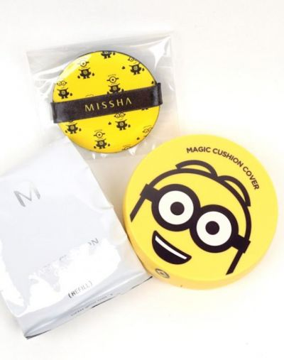Missha MISSHA Magic Cushion Cover Minions Edition