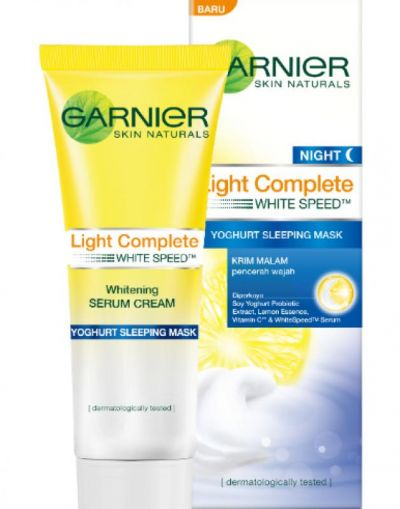 Light Complete Yoghurt Sleeping Mask