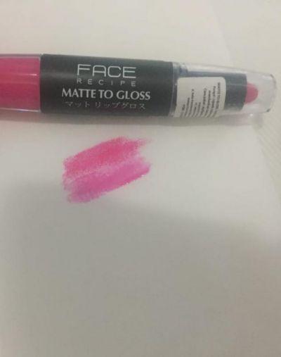 FACE Recipe Matte to Gloss