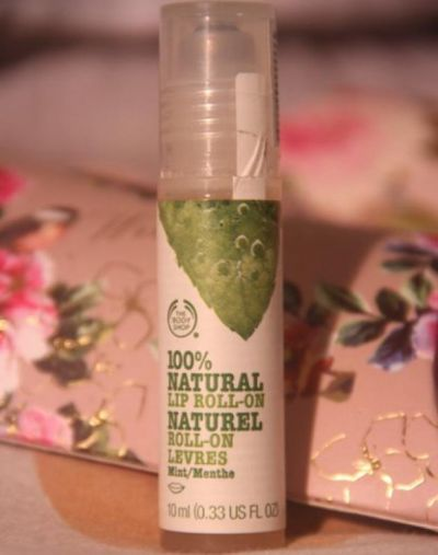 The Body Shop Natural Lip Roll On