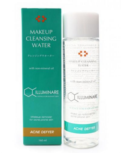 iluminare Acne Make Up Cleansing Water