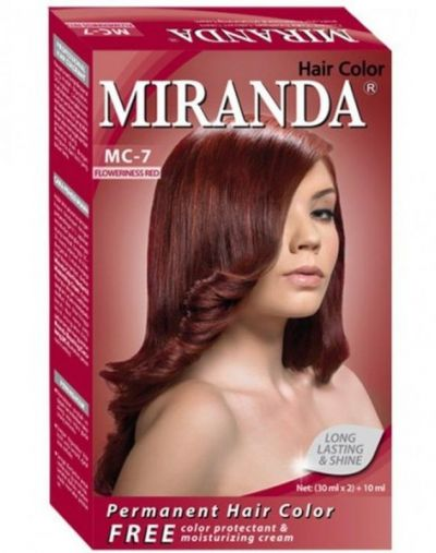 Miranda Permanent Hair Color