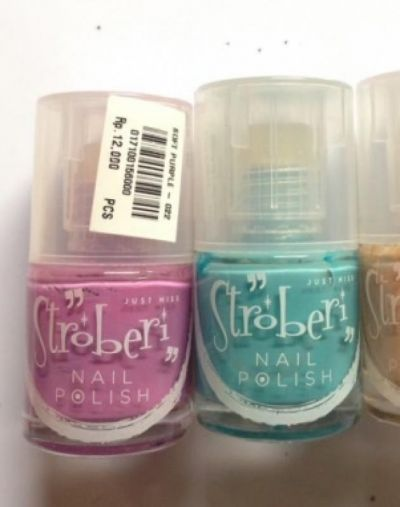 JustMiss Cosmetics Nail Polish Stroberi by Just Miss