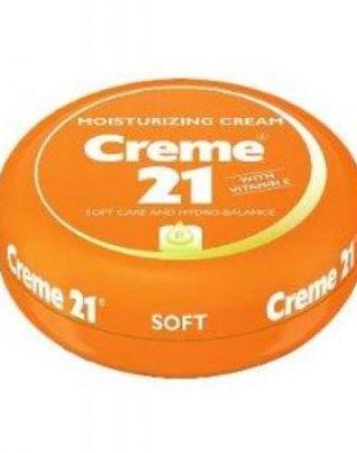 Creme 21 Moisturizing Cream Soft Care And Hydro Balance