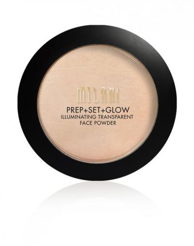 Milani Prep Set Glow Illuminating Transparent Powder