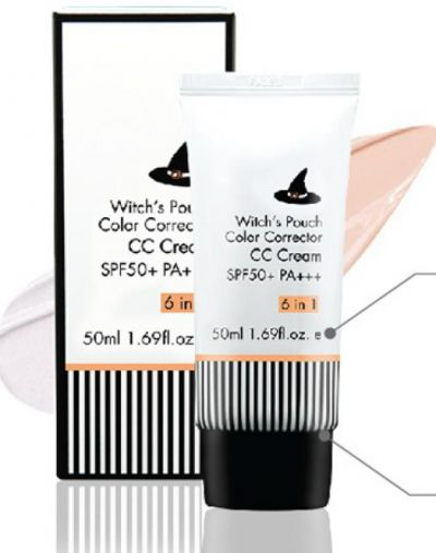 Witch's Pouch Color Correction CC Cream SPF50