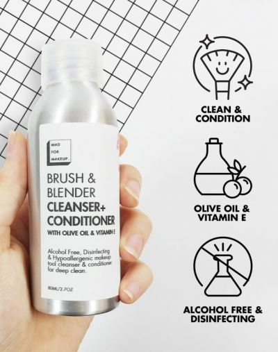 Mad For Makeup Brush & Blender Cleanser Conditioner