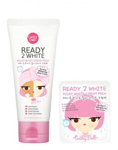 Ready 2 White Milky White Cream Pack Whitening 100ml