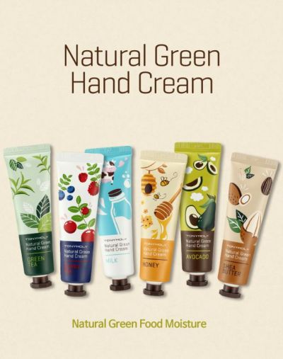 Tony Moly Natural Green Food Hand Cream