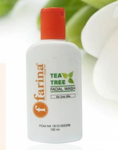 Farina Tea Tree Facial Wash for Acne Skin