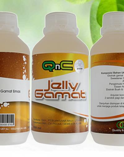 QnC Jelly Gamat Suplemen Kolagen Dari Ekstrak Teripang QnC Jelly Gamat