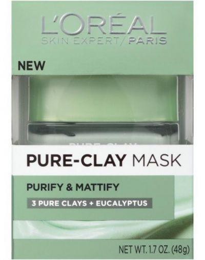 L'Oreal Paris Pure-clay mask