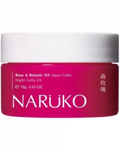 Naruko Rose& botanic HA aqua cubic night gelly ex