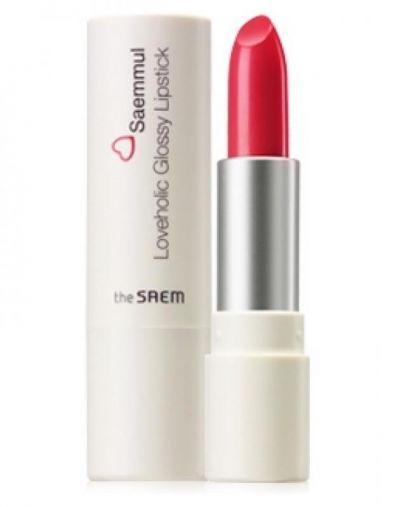 the SAEM Saemmul Loveholic Glossy Lipstick