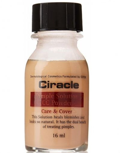 ciracle Pimple Solution CC powder