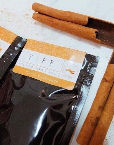 Tiff Cinnamon Coffe Scrub