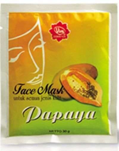 Viva Cosmetics Face Mask Papaya