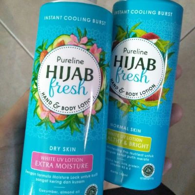 Pureline Hijab Fresh pureline hijab fresh hand and body