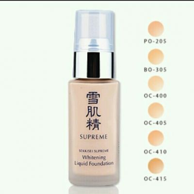 KOSE sekkisei supreme whitening liquid foundation