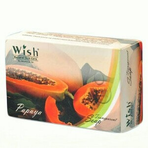 Papaya Papaya Transparent Soap Wish By Dr. Boyke & Co