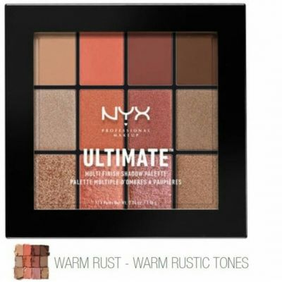 NYX ULTIMATE MULTI FINISH EYESHADOW PALETTE