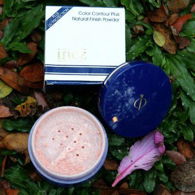 Inez Cosmetics natural Finish Powder