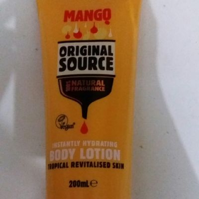 Original Source Original source mango body lotion