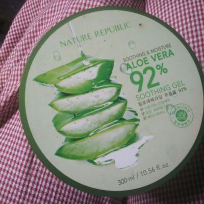 Nature Republic Aloe vera 92 % sooting gel