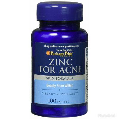 PURIVERA BOTANICALS Puritan's Pride Zinc For Acne