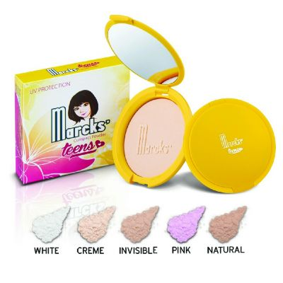 Marcks Marcks' Teens Compact Powder With UV Protection