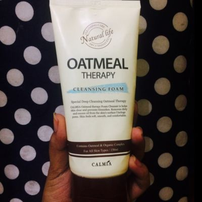 CLEAN Oatmeal therapy cleansing foam
