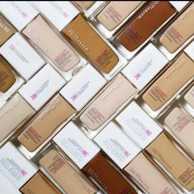 Maybelline's full coverage 24H foundation