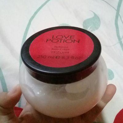 Oriflame oriflame love potion body cream