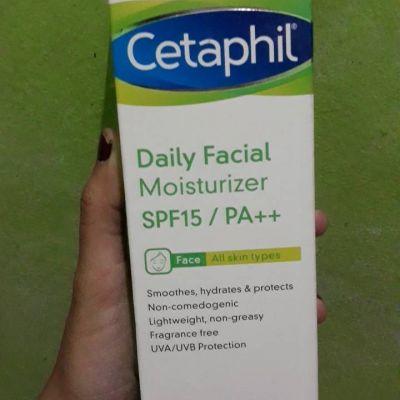 Cetaphil cetaphil daily facial moist spf 15/PA++