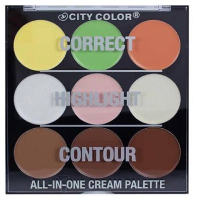 All in one cream pallet