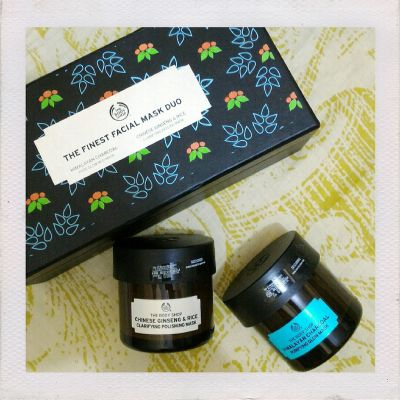 The Body Shop The body shop the finest facial mask duo