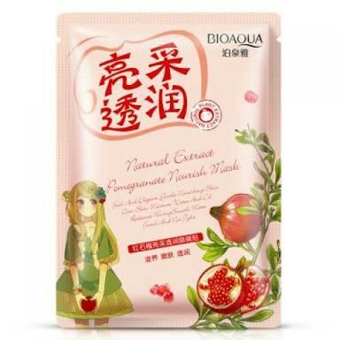 Natural Extract Pomegranate Nourish Mask