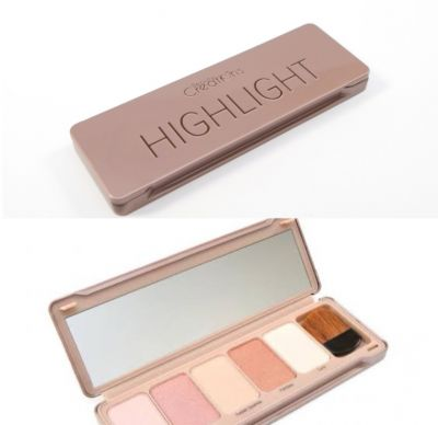 More highlighters palette