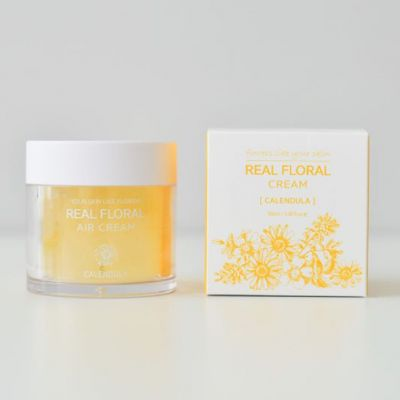 Natural Pacific Real Floral Air Cream Calendula