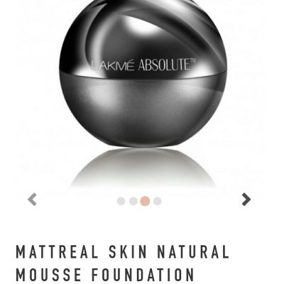 mattreal skin natural mousse foundation