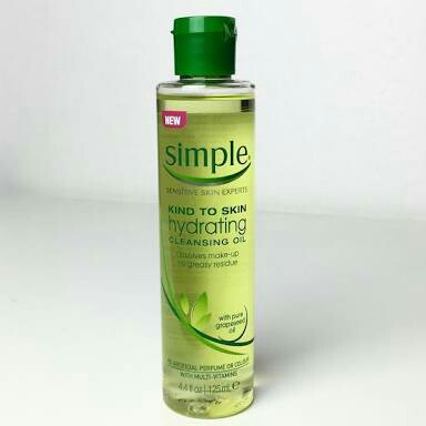 Simple Simple Kind To Skin Hydrating Cleansing Oil